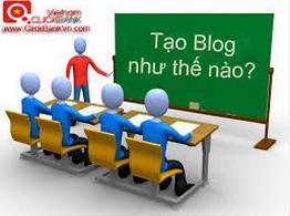 Cách tạo blog như thế nào