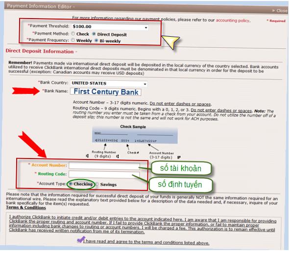 đăng ký payoneer clickbank