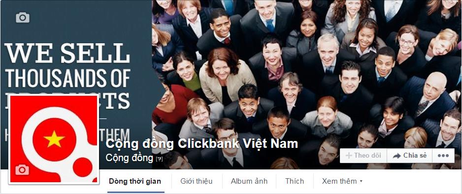 Facebook Cộng đồng Clickbank Việt Nam