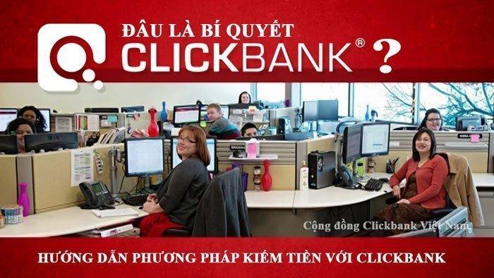 bí quyết kiếm tiền với clickbank