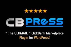 CBpress WordPress plugin tuyệt vời cho Affiliate Clickbank
