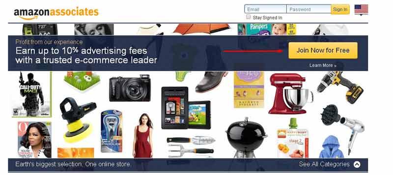 Hướng dẫn đăng ký Amazon