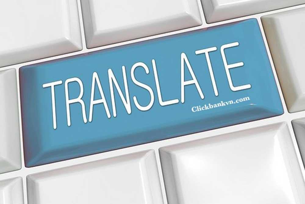 Kiếm tiền trên mạng từ việc dịch thuật