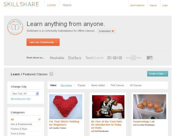 skillshare make money online