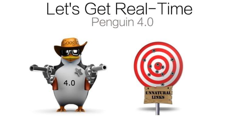 google penguin 4 update, Google Penguin 4.0