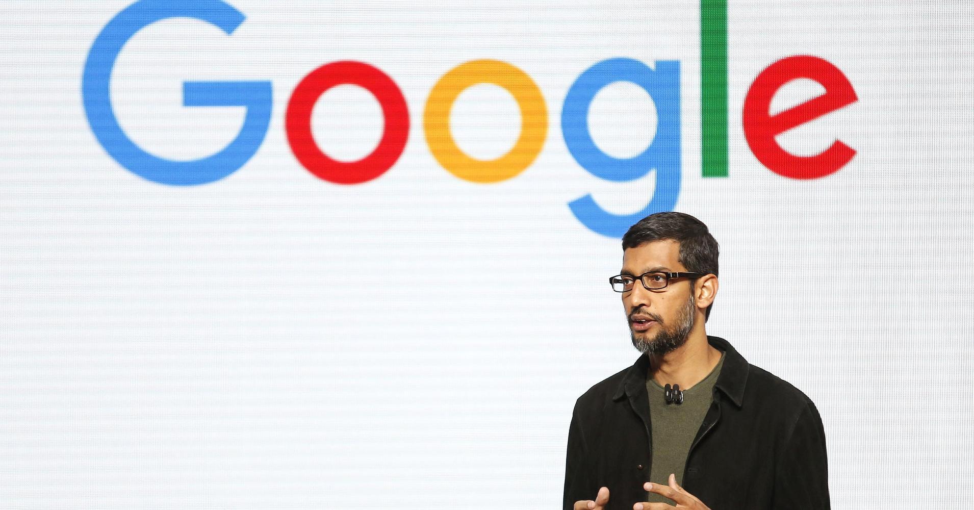 CEO Google, Justin Sullivan.